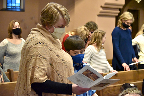 Catechumens express readiness to share the life of Jesus