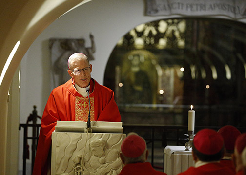 Let Christ lead you through 'this holiest of weeks,' archbishop advises