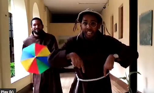 Franciscans in Brazil use frevo music in video urging people to stay home