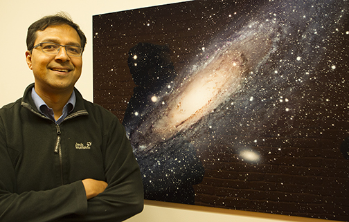 Jesuit astronomer works to unravel the mysteries of galactic change