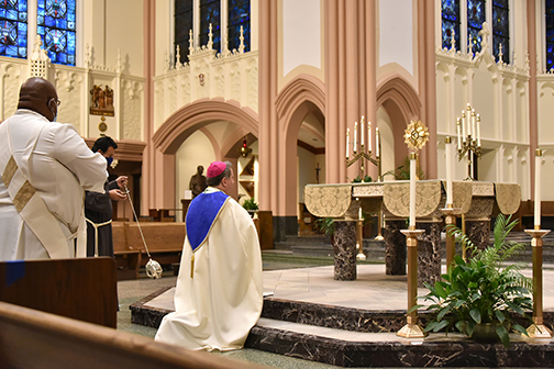 Morning prayers, adoration and Mass highlight Day of Prayer