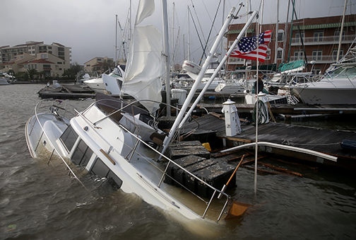 Dioceses brace for damage as Hurricane Sally slams into Gulf Coast