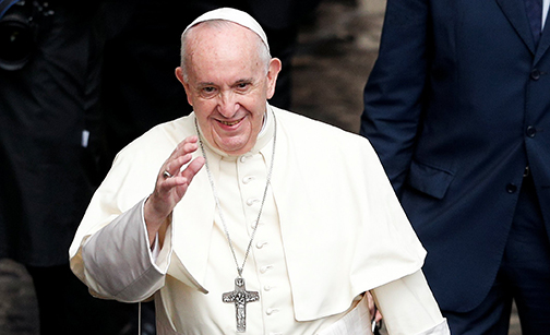 True change requires input of everyone, not just the powerful, pope says