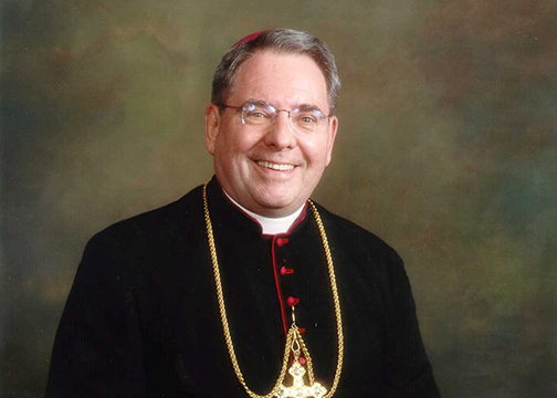 Archbishop John Myers, 79, helped calm N.J. Catholics after 9/11 attacks