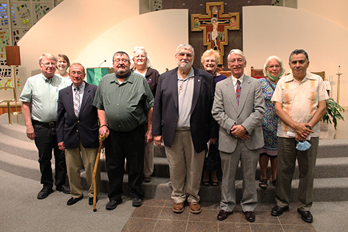 Deacon jubilarians and candidates celebrated for having servant hearts