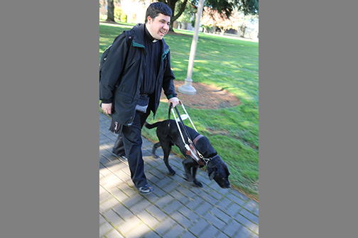 Oregon blind seminarian 'sees' beyond external trappings