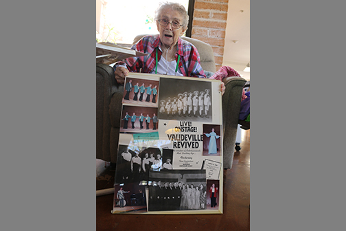 Sister recalls vaudeville days and her family as 'Nine Dancing Donahues'
