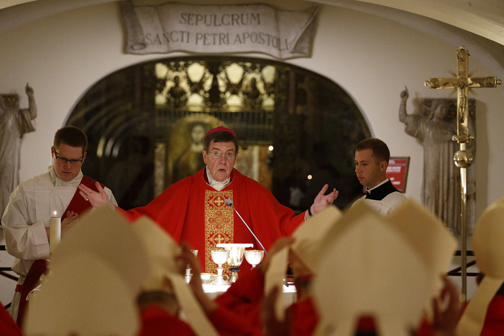 Unity comes from faith in Christ, U.S. archbishop says