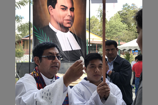 U.S. brother beatified on soccer fields of Guatemalan school he served