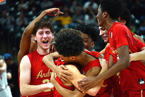 Andrean boys basketball 2019 state champs 1