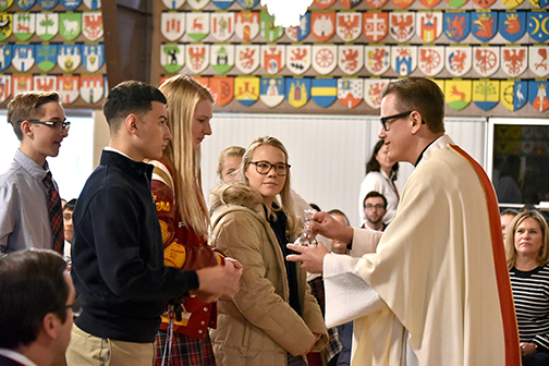 Andrean, Bishop Noll and Marquette students enjoy spirited gathering