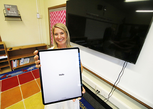 BACK TO SCHOOL  New iPads, lockers in store for Notre Dame students this fall