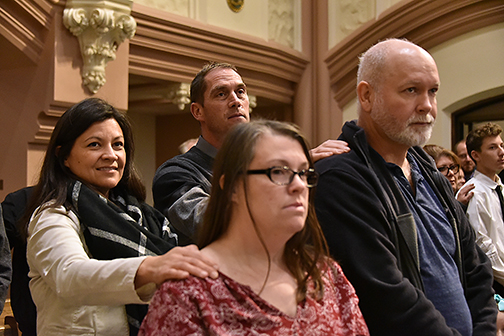 Rite of Call candidates welcomed on journey into Catholic Church