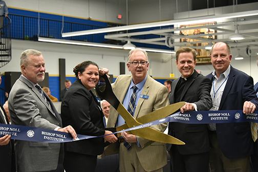 State-of-the-art lab ushers in a new high-tech era at Bishop Noll