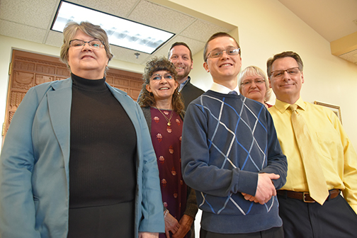 New faces join Pastoral Center staff in variety of roles